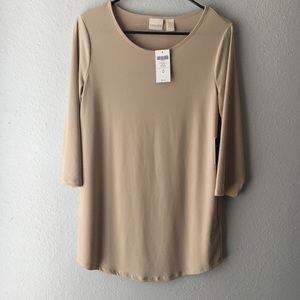 Chicos 3/4 Sleeve Top